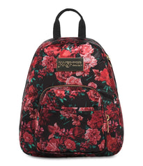 JanSport Half Pint Luxe Mini Backpack - Luxe Rose