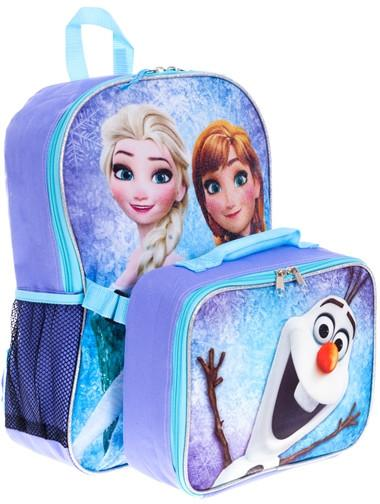 3b878e3b99c Disney Frozen Backpack and Lunch Box - Canada Luggage Depot