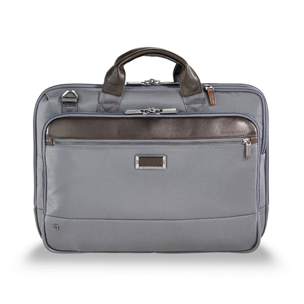 Briggs & Riley @work Slim Brief - Grey