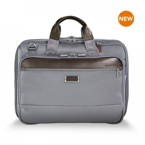 Briggs & Riley @work Medium Expandable Brief - Grey