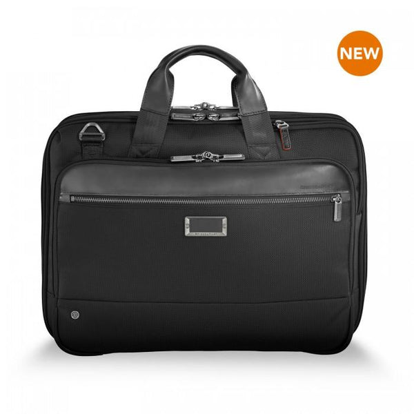 Briggs & Riley @work Medium Expandable Brief - Black