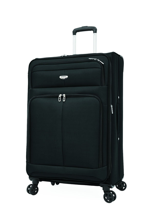 "Samboro Spirit Lite 28"" Expandable Spinner Luggage - Black"