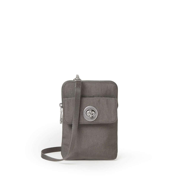 Baggallini Lima RFID Mini Bag - Sterling Shimmer