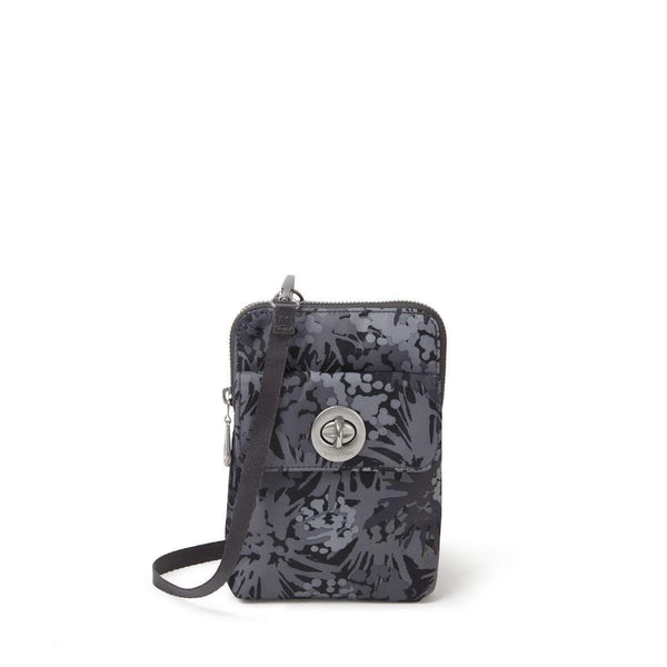 Baggallini Lima RFID Mini Bag - Pewter Thistle