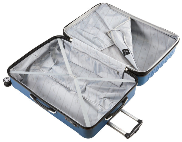 Mancini SANTA CLARA Lightweight Carry-On Spinner Luggage