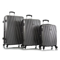 Leo by Heys Legacy 3 Piece Lightweight Spinner Luggage Set