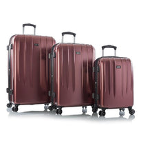 Leo by Heys Legend 3 Piece Lightweight Spinner Luggage Set