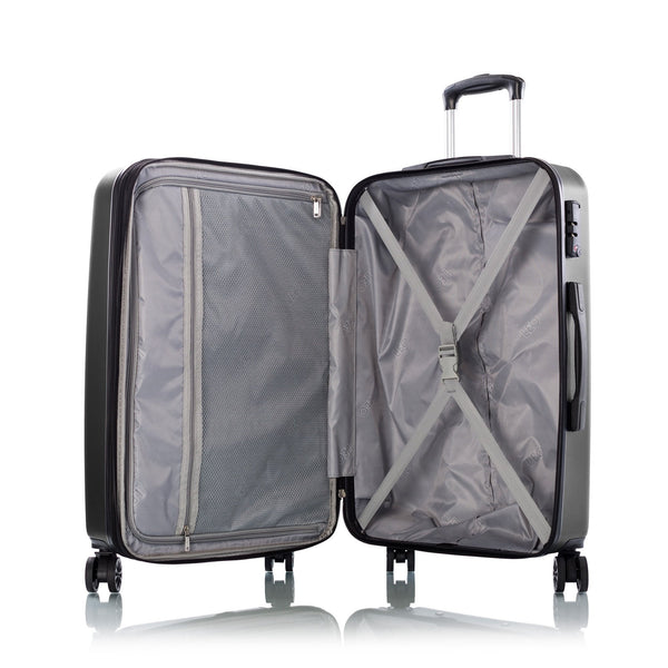 Leo By Heys Levante 3 Piece Hardside Expandable Spinner Luggage Set