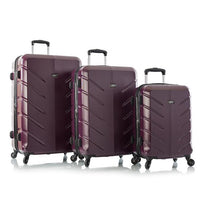 Leo by Heys Levar 3 Piece Lightweight Spinner Luggage Set