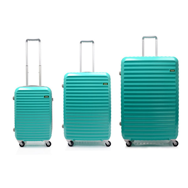 Lojel Groove Zippered Hardside Spinner Upright - 3 Piece Luggage Set