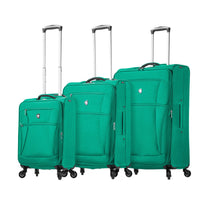 Mia Toro Nuvola 3 Piece Expandable Spinner Upright Luggage Set