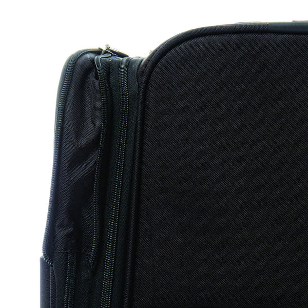 Medium Spinner Luggage is Expandable