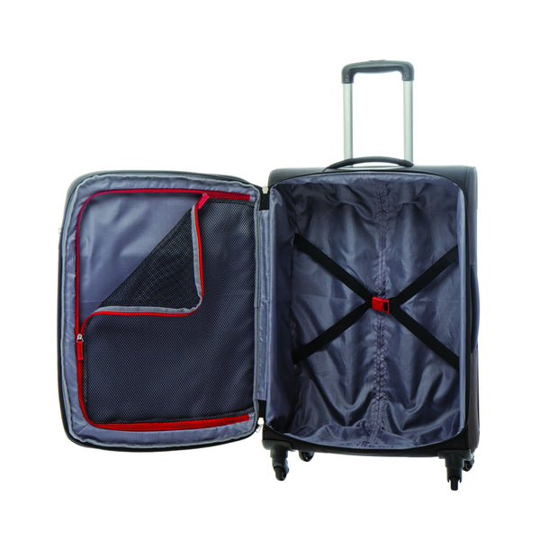 American Tourister Joyride Spinner Carry-On Luggage - Obsidian Black