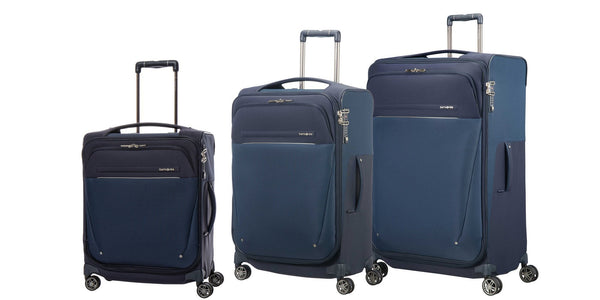 Samsonite B-Lite Icon 3 Piece Spinner Expandable Luggage Set - Dark Blue