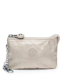 Kipling Creativity Mini Metallic Keychain - Cloud Metal