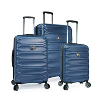 Delsey Meteor 3 Piece Expandable Spinner Luggage Set