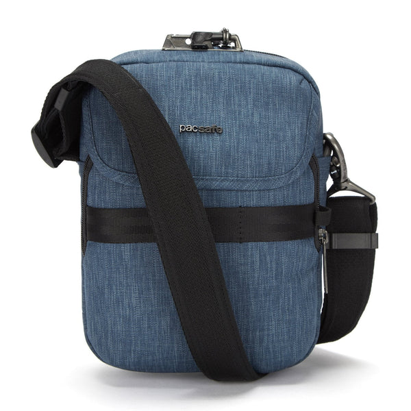 Pacsafe Metrosafe X Anti-Theft Compact Recycled Crossbody Bag - Dark Denim