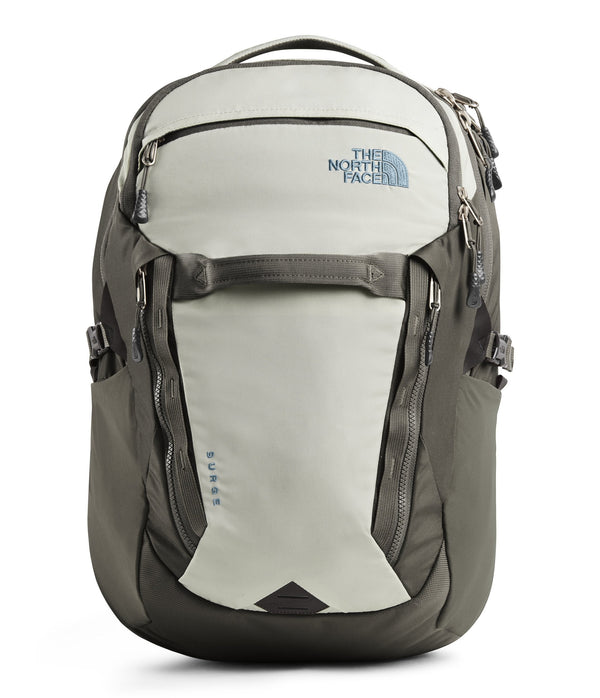 The North Face Surge Backpack - Dove Grey/Weimaraner Brown
