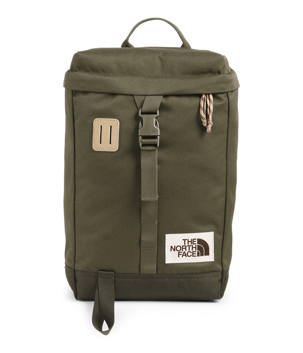 The North Face Top Loader Daypack - Burnt Olive Green/New Taupe Green