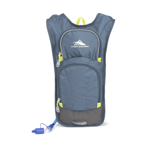 High Sierra Hydrahike Hydration Pack 4L - Graphite Blue/Mercury/Glow