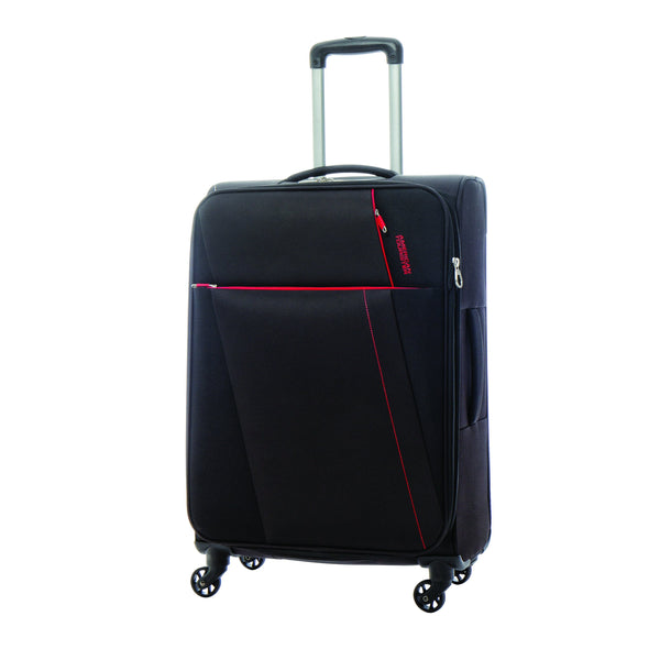 American Tourister Joyride 3 Piece Spinner Expandable Luggage SetAmerican Tourister Joyride 3 Piece Spinner Expandable Luggage Set - Obsidian Black