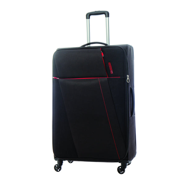 American Tourister Joyride 3 Piece Spinner Expandable Luggage Set - Obsidian Black
