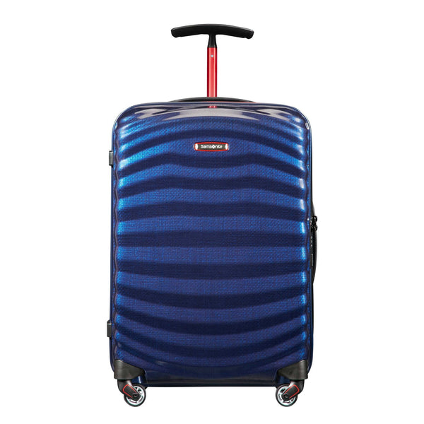 Samsonite Black Label Lite-Shock Sport Spinner Carry-On Luggage - Nautical Blue/Red