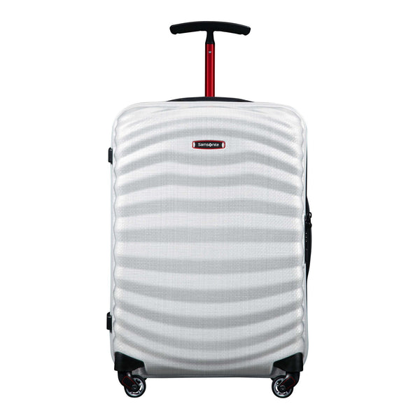 Samsonite Black Label Lite-Shock Sport Spinner Carry-On Luggage - Off White/Red