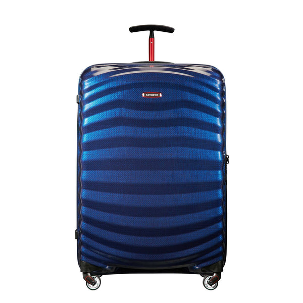 Samsonite Black Label Lite-Shock Sport 28 Inch Spinner Large Luggage - Nautical Blue/Red
