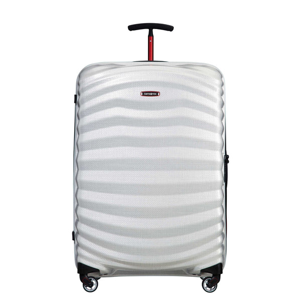 Samsonite Black Label Lite-Shock Sport 28 Inch Spinner Large Luggage - Off White/Red