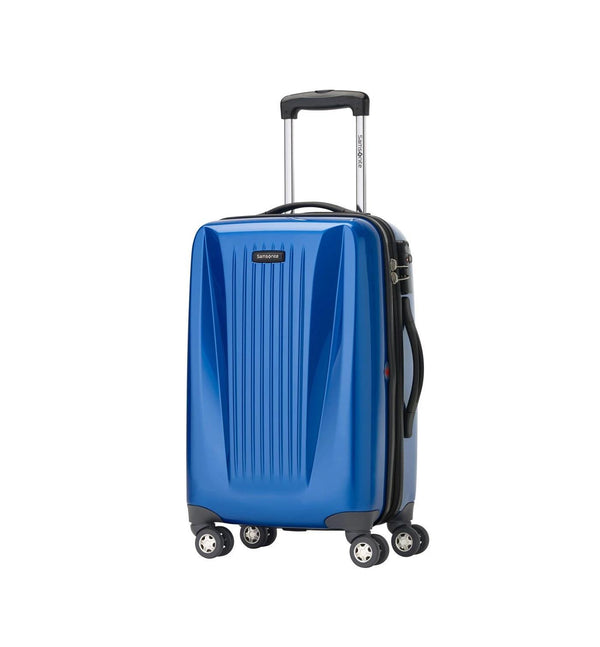 "Samsonite Omni Lite 2.0 - 21.5"" Hardside Wide Body Carry-On Spinner Luggage - Blue"