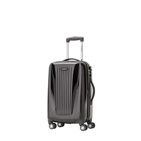 "Samsonite Omni Lite 2.0 - 21.5"" Hardside Wide Body Carry-On Spinner Luggage - Brushed Charcoal"