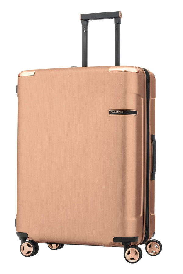 Samsonite Evoa Spinner Medium Expandable Luggage - Rose Gold