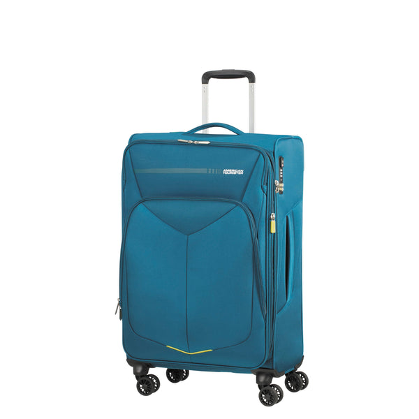 American Tourister Fly Light Spinner Medium Expandable Luggage - Teal