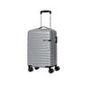 American Tourister Sky Bridge Collection 2 Piece Spinner Luggage Set (Carry-On & Medium) - Silver