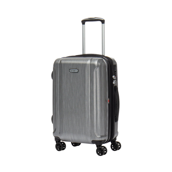 Samsonite Omni 3.0 Carry-On Spinner Expandable Luggage - Brushed Silver