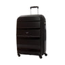American Tourister Bon Air Collection 2 Piece Spinner Expandable Luggage Set - Medium and Large - Black
