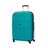 American Tourister Bon Air Collection 2 Piece Spinner Expandable Luggage Set - Medium and Large - Deep Turquoise