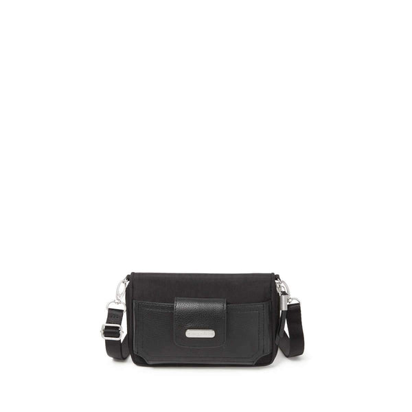 Baggallini RFID Phone Wallet Crossbody - Black