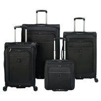 Delsey Helium Pilot 4.0 4 Piece Expandable Spinner Luggage Set