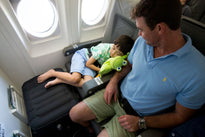 Plane Pal Inflatable Pillow for Kids (Full Kit with Pump and Backpack)