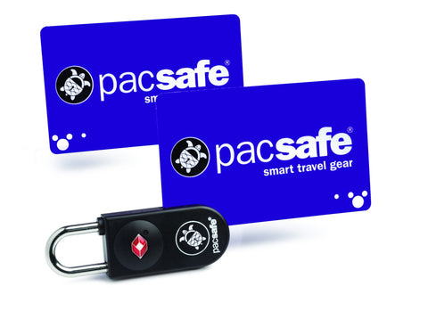 Pacsafe Prosafe® 750 TSA accepted key-card lock