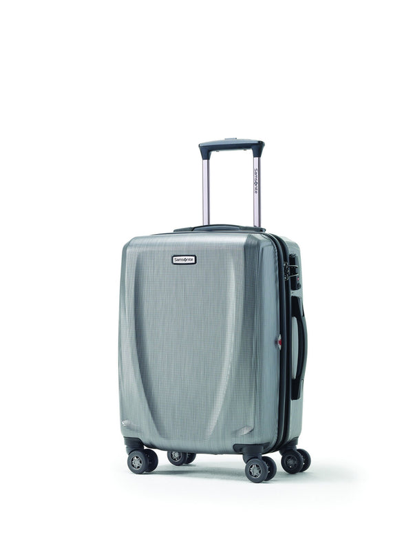 Samsonite Pursuit DLX Spinner Carry-On Widebody Luggage - Silver