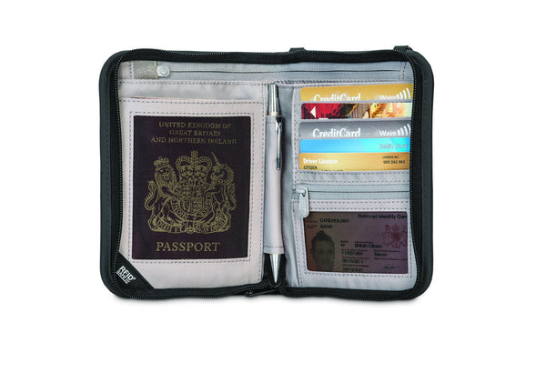 Pacsafe RFIDsafe™ V150 Anti-theft RFID Blocking Compact Organiser