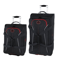 Roots Rocky Mountains Collection Wheeled Duffle 2-Piece Set (Convertible Carry On & 28