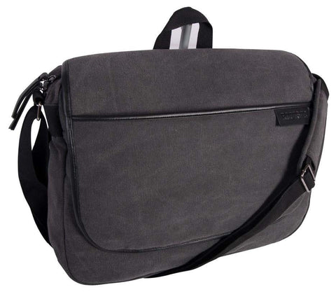 Roots 73 16 oz Canvas 15.6 Inch Messenger Bag