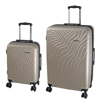 Renwick Two Piece Hardside Luggage Set (Carry On and Large)