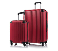 Champs Tourist Collection Hardside Spinner 2 Piece Expandable Luggage Set