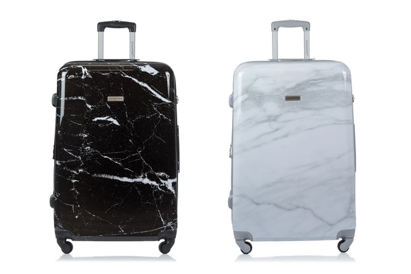 Champs Carrera Collection 3 Piece Expandable Spinner Luggage Set