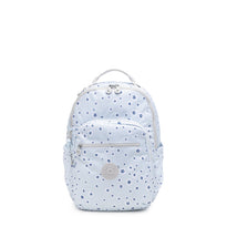 Kipling Seoul Small Tablet Printed Backpack - Ocean Floral